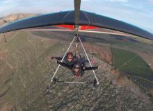 Hang Gliding, Famara, Lanzarote Spain
